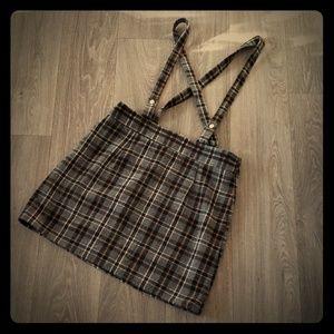 Forever 21 plaid skirt L